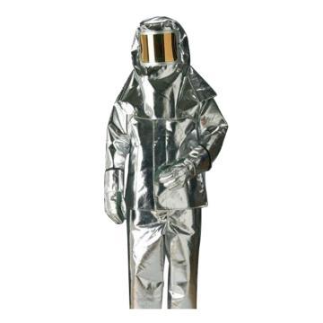 雷克兰Lakeland 300-M,接近式隔热服,包括:头罩,上衣,裤子,靴子,手套,产品袋,背带