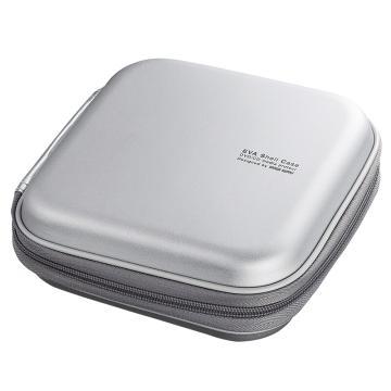 山業SANWA SUPPLY CD/DVD收納盒 36枚 抗震FCD-SH36SV 1個