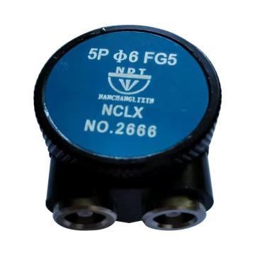 8113820江超立新 轮箍单晶探头,5Pφ6 FG5