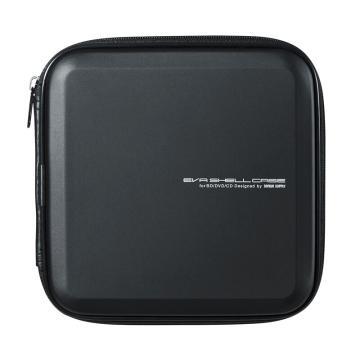 山業SANWA SUPPLY CD/DVD收納盒 24枚 抗震 藍光FCD-WLBD24BK 1個
