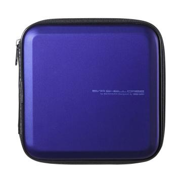 山業SANWA SUPPLY CD/DVD收納盒 24枚 抗震 藍光FCD-WLBD24BL 1個