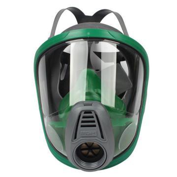 梅思安MSA 面罩,10051810,欧风 配有呼吸管 硅胶材质