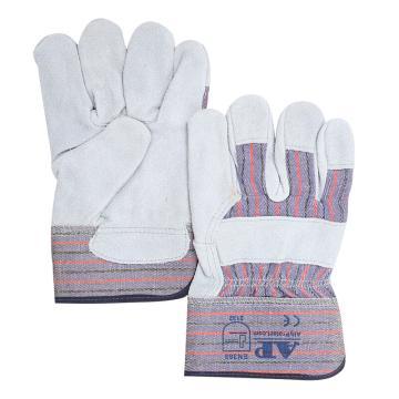友盟 半皮手套,AP-2203-L,原色全掌手套