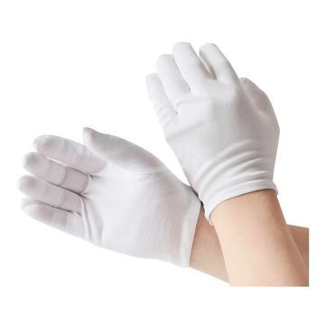 西域推荐 棉手套,品管手套 薄款,12副/打