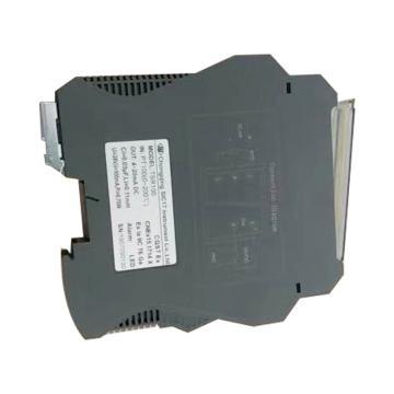重庆川仪 一体式温变器,SBWZ-4-TSR1(0-200) pt100三线接入 0.2级温度变送模块24VDC 4-20mA输出