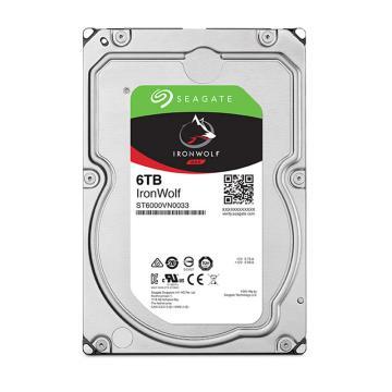 希捷酷狼硬盘,网络存储(NAS)硬盘 ST6000VN0033 6TB SATA接口
