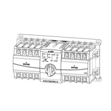 雷顿 双电源转换开关,XLDQ3NXB 63 – 63/4