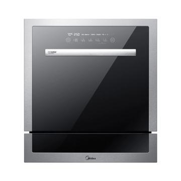 美的(Midea) 家用8套洗碗机,WQP8-W3906B-CN 嵌入式洗碗机 WIFI智能洗节能洗 除菌烘干 单位:台