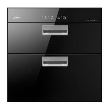 美的(Midea) 消毒碗柜,MXV-ZLT-Q9033-GD 二星級高溫獨立雙模嵌入式消毒柜 86L 單位:臺