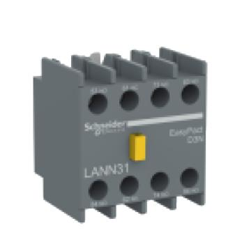 施耐德 EasyPact D3N接触器辅助触点模块,2NO+2NC,LANN22N