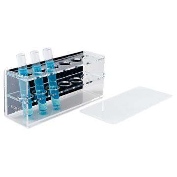 西域推荐 经济型比色管架(有机玻璃) 100mlX6 (1个) CC-4499-04