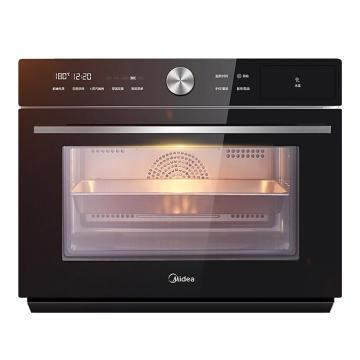 美的(Midea) 家用蒸烤一體機,S5-L300E 30L電蒸箱電烤箱二合一 下臺式智能烘焙蒸爐 單位:臺