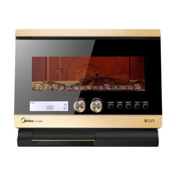 美的(Midea) 微蒸烤一體機,X7-321B 32L家用臺式變頻 微波爐電蒸箱電烤箱三合一 單位:臺