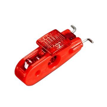 玛斯特锁MasterLock 迷你型空气断路器停工锁,外扣,宽栓口,S2391