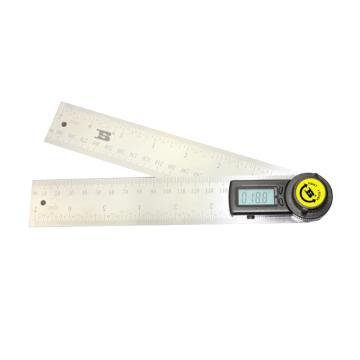 波斯BOSI 二合一数显角度尺,200mm,BS182820