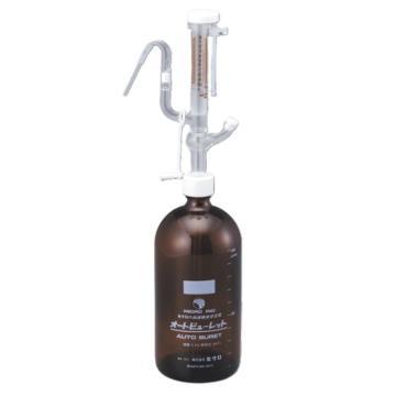 西域推荐 全自动瓶口分液器(带茶色瓶) 1B白色 (1个) 2-5638-01