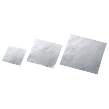 西域推荐 加厚铝膜垫片 100角 1袋(250张) 3-652-01