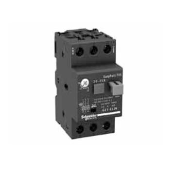 施耐德电气Schneider Electric EasyPact TVS热磁式电动机断路器,整定电流17-23A,GZ1E21N