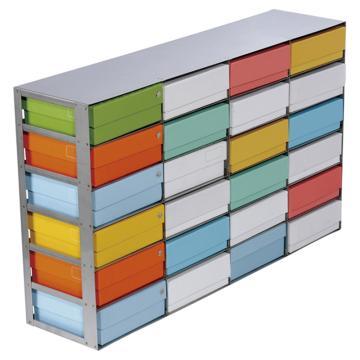 西域推荐 不锈钢冻存架 99-1224(1个) CC-3275-01