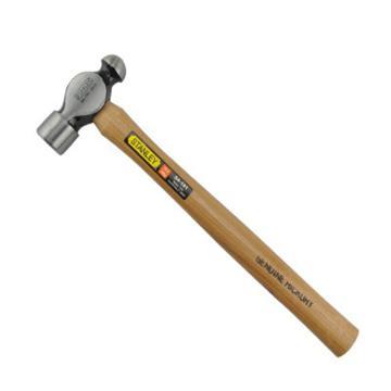 史丹利STANLEY 硬木柄圆头锤,8oz,STHT54189-8-23,奶头锤 奶子锤 榔头木工安装锤 小铁锤