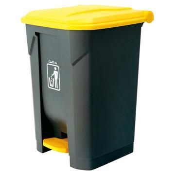 西域推荐 脚踏式垃圾桶 B2-010B(1个) CC-4597-02