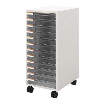 西域推荐 多层抽屉式储存柜 LC-118C-WH(1个),CC-3362-02