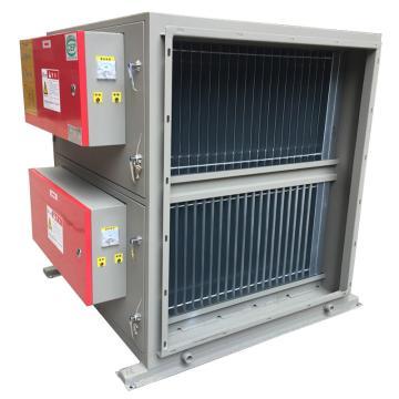 九洲普惠 高排静电式油烟净化器,HPF-JD-12,0.8KW,220V,空气阻力<150Pa。含木架包装