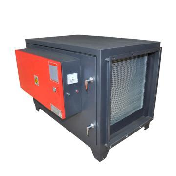 九洲普惠 低排静电式油烟净化器,HPF-JD-8,0.68KW,220V,空气阻力<300Pa。含木架包装