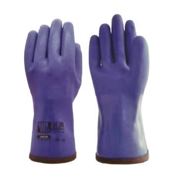 兰浪 PVC防寒手套,-30°,宝石蓝,U9530-10