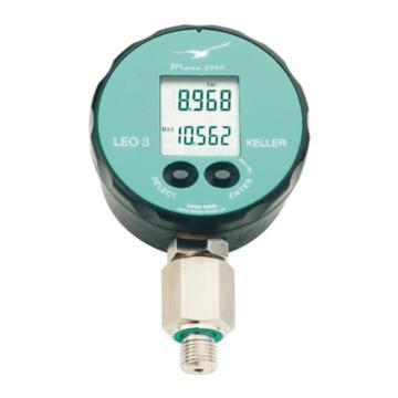 KELLER 压力变送器,LEO3,0-1.6MPa,输出4-20mA,电源24VDC,电气接口Binder 723,G1/2接口