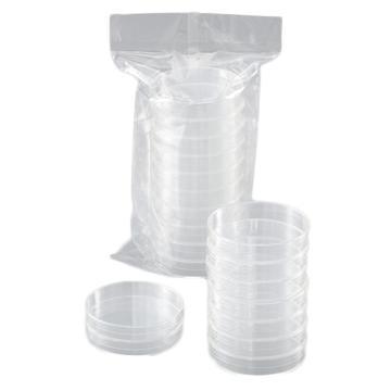 西域推荐 培养皿(电子射线灭菌) φ90×20mm 1箱(10张×50袋) 深型培养皿,1-9467-02