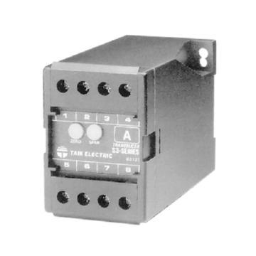台技 电流变送器,S3-AD-3,220VDC,AC 0-1A 50HZ,DC 4-20mA