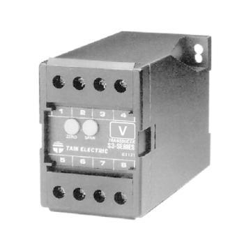 台技 电压变送器,S3-VD-3,220VDC,AC0-80V 50HZ,DC4-20mA
