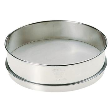 西域推荐 不锈钢标准筛子 普及型 内径φ200mm 106μm (1个) 6-578-25
