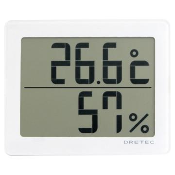 西域推荐 数字式温湿度计 O-226WT (1个) 8-1493-01