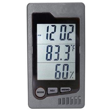 西域推荐 经济型温湿度计(大屏幕式) DT-322(1个)入 CC-3187-01