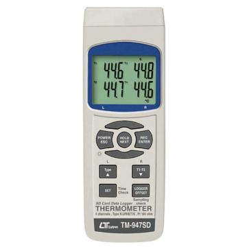 西域推荐 数据记录仪温度计(4通道) TPK-01(1个入) 2-1960-11