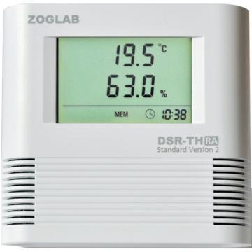 西域推薦 溫濕度記錄儀 DSR-T-UA (1個) CC-2543-03
