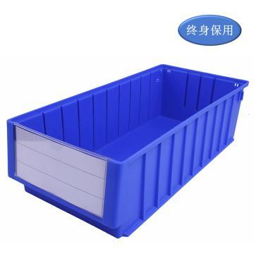 Raxwell 分隔式零件盒 物料盒,外尺寸规格D*W*H(mm):500×235×140,全新料,蓝色,单位:个