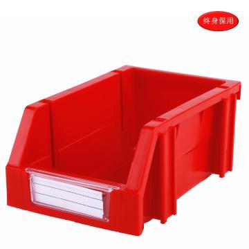 Raxwell 組立背掛零件盒 物料盒,外尺寸規格D*W*H(mm):160×100×74,全新料,紅色,單位:個