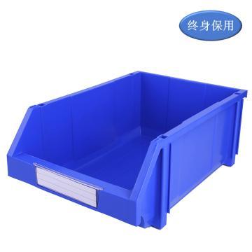 Raxwell 組立背掛零件盒 物料盒,外尺寸規格D*W*H(mm):450×300×177,全新料,藍色,單位:個