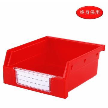 Raxwell 背掛零件盒 物料盒,外尺寸規格D*W*H(mm):110×105×50,全新料,紅色,單位:個