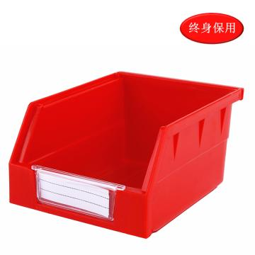 Raxwell 背掛零件盒 物料盒,外尺寸規格D*W*H(mm):140×105×75,全新料,紅色,單位:個