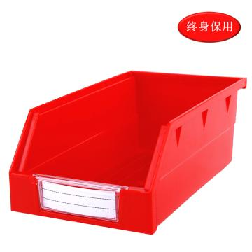 Raxwell 背掛零件盒 物料盒,外尺寸規格D*W*H(mm):190×105×75,全新料,紅色,單位:個