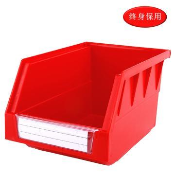 Raxwell 背挂零件盒 物料盒,外尺寸规格D*W*H(mm):220×140×125,全新料,红色,单位:个
