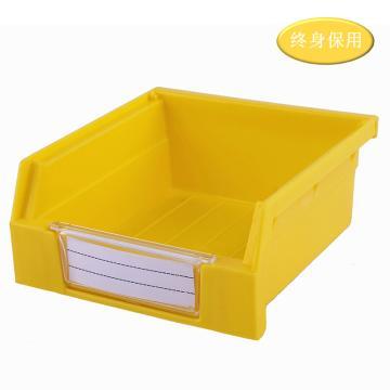 Raxwell 背掛零件盒 物料盒,外尺寸規格D*W*H(mm):110×105×50,全新料,黃色,單位:個