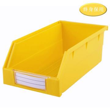 Raxwell 背掛零件盒 物料盒,外尺寸規格D*W*H(mm):190×105×75,全新料,黃色,單位:個
