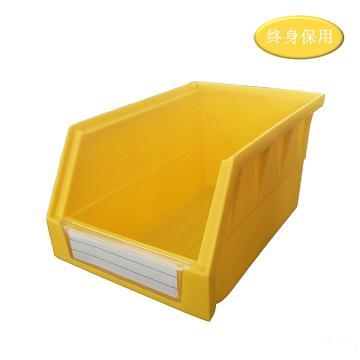 Raxwell 背掛零件盒 物料盒,外尺寸規格D*W*H(mm):220×140×125,全新料,黃色,單位:個