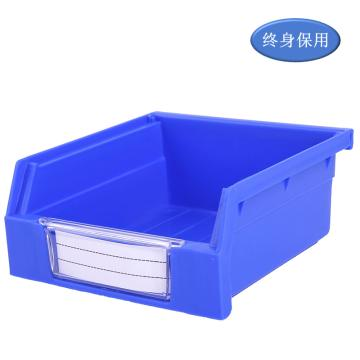 Raxwell 背掛零件盒 物料盒,外尺寸規格D*W*H(mm):110×105×50,全新料,藍色,單位:個