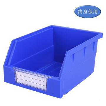 Raxwell 背挂零件盒 物料盒,外尺寸规格D*W*H(mm):140×105×75,全新料,蓝色,单位:个